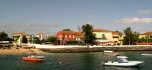 View of Goree main waterfront.