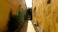 A typical street of Goree